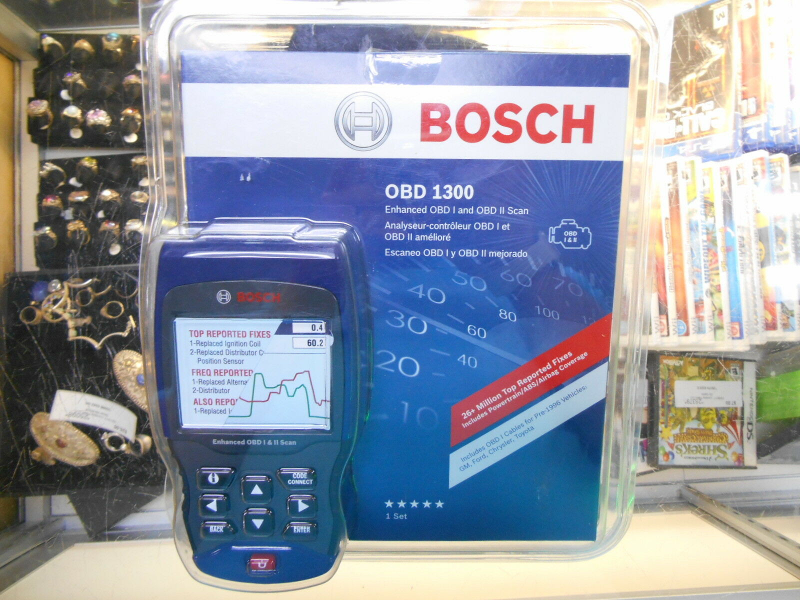 new bosch obd 1300 scan reader new for sale in hampton georgia usa vehicles. Black Bedroom Furniture Sets. Home Design Ideas
