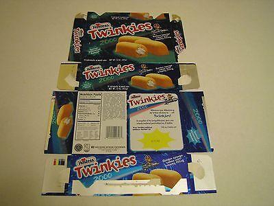 Hostess  Pre Bankruptcy Interstate Brands  Twinkies Millennium Vintage Box