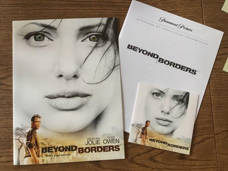 Movie Press Promo Kit - BEYOND BORDERS - Angelina Jolie, Clive Owen - 2003