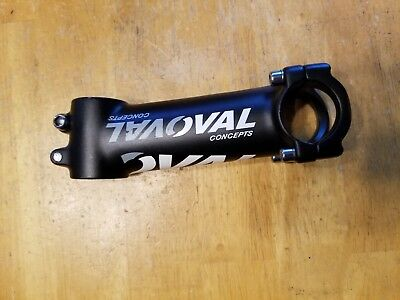 Oval Concepts 313 Alloy Road stem 100mm 31.8 7 deg 138 grams ocs11