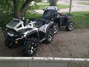 Looking to trade my two quads