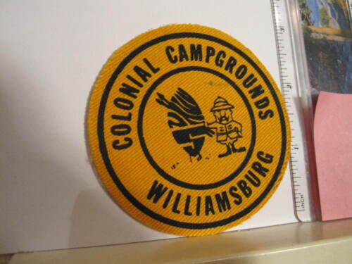 Colonial Campgrounds Williamsburg VA Virginia patch