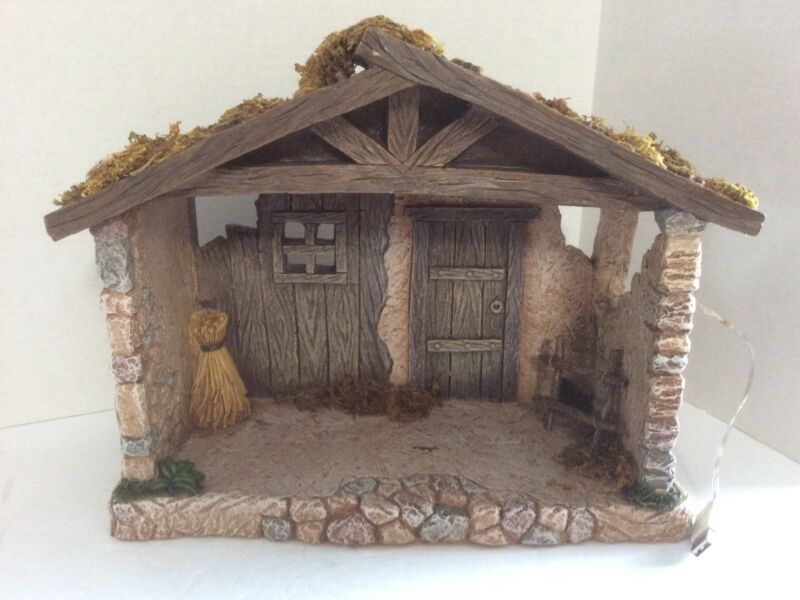 Fontanini Heirloom Collection Nativity Stable For 5 Inch Nativity
