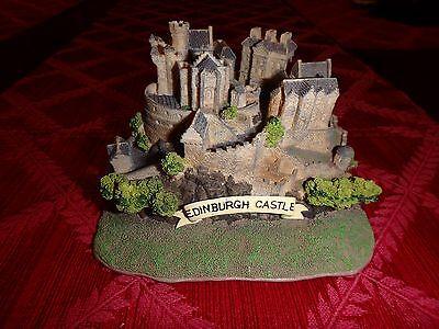 Souvenir miniature replica resin building Edinburg Castle Scotland