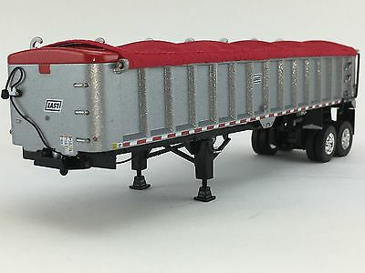1/64 DCP SILVER EAST END DUMP TRAILER W/ RED TARP for sale  Shipping to Canada