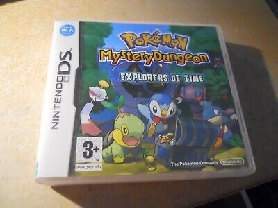 Pokemon Mystery Dungeon : Explorers of Time - Nintendo DS game. UK EUR. Tested