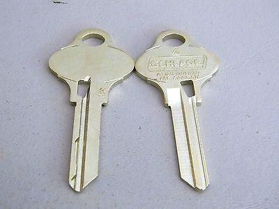 2 Schlage Everest 29 Key Blanks Dnd S123 Originals