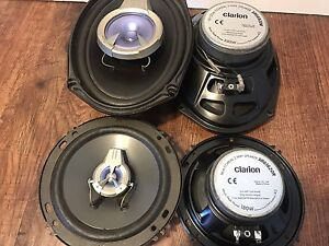 High Quality Car Speakers Sets [Sony, Clarion, Pioneer, JBL]