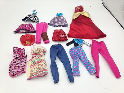bulk lot of barbie, monster high, bratz  Doll clothes and accessories