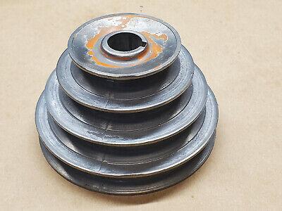 Vintage Delta 4-12 Four Step Zinc Die Cast Pulley 34 Bore