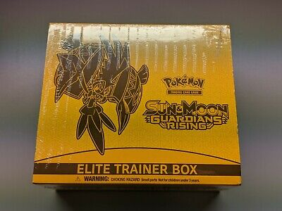Pokemon Sun & Moon Guardians Rising Elite Trainer Booster Box