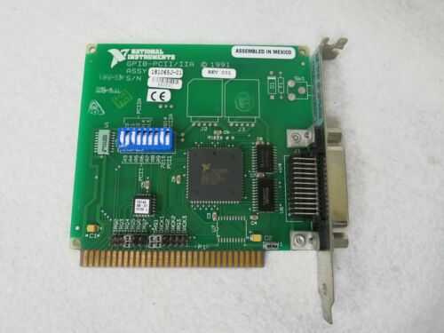 National Instruments NI 181065J-01 GPIB-PCII/IIA IEEE-488.2 Interface Card