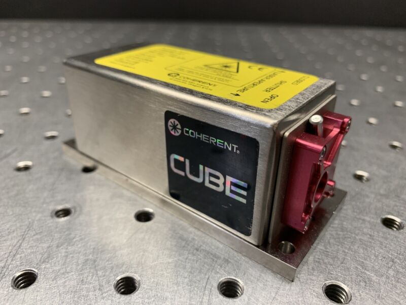 Coherent Cube Laser 660nm 94.9mW Tested