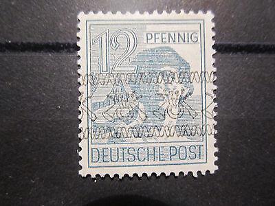 Alliierte Besetzung Währungsreform 40 I kopfstehender Aufdruck * (Falz) (m32)