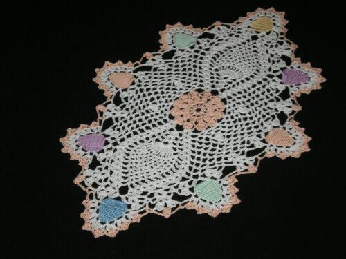 New Handmade Doily Crocheted Easter Eggs