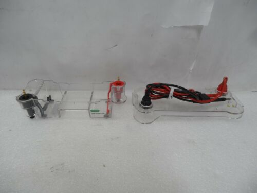 Bio-Rad Sub-Cell GT Mini Gel Electrophoresis System With Lid and Leads