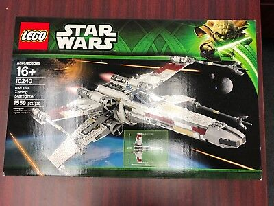 Lego Star Wars Red Five X Wing Starfighter 10240 New