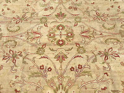 8x10 HAND KNOTTED WOVEN RUG WOOL AREA RUGS 8 x 10 peshawar beige 7 9 11 persian