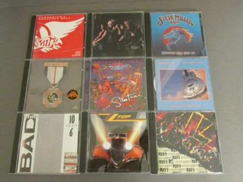 Lot of Various Rock CDs (18) - Used