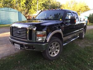 2008 Ford F350 Crew Cab Long Box 4x4 Diesel