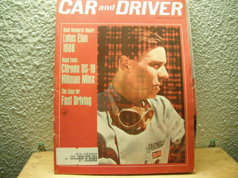 Car and Driver February 1964