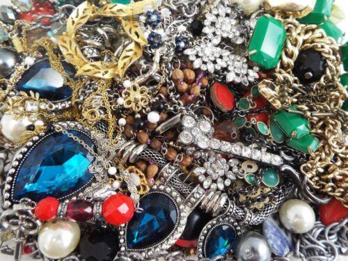 ~ 3 lb ~ Junk Jewelry ~ Lot L214