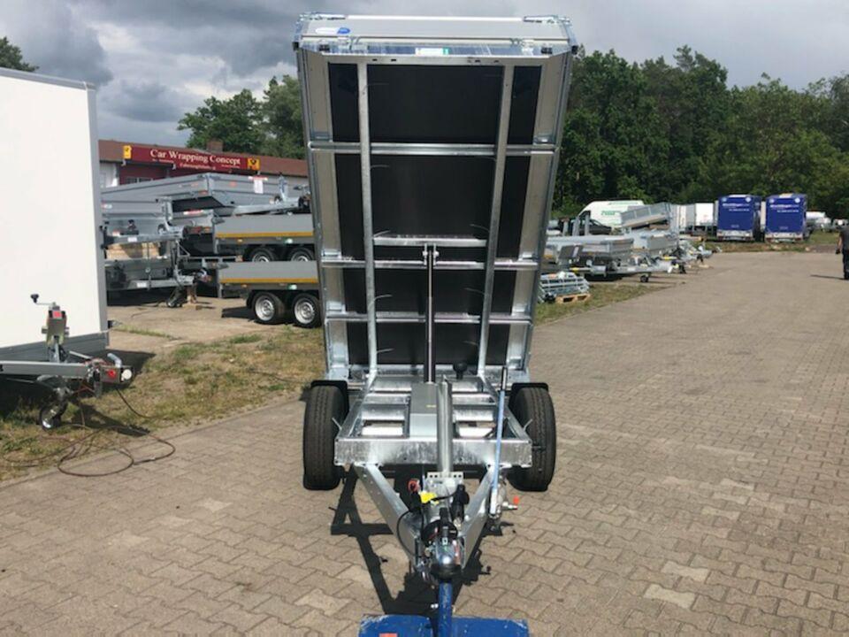 ⭐ Anhänger Eduard e-Kipper 1350 kg 256x150x30 cm Handpumpe NEU 72 in Schöneiche bei Berlin