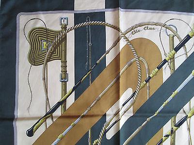 -superbe foulard carré hermÈs
