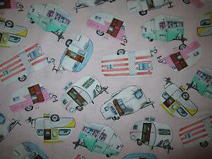Vintage Trailer Fabric Ebay