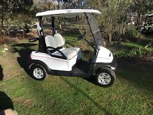 Club car precedent cart buggy  with headlights electric. Bendigo Bendigo City Preview