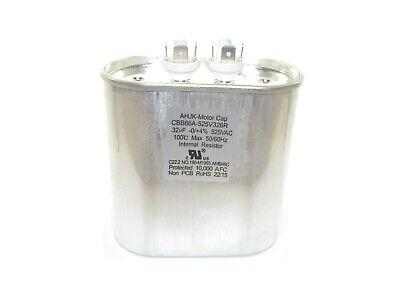 Lighting Capacitor Aerovox Z93s5232nn3726-mf 32mfd 525 Volts Cbb66a-525v326r