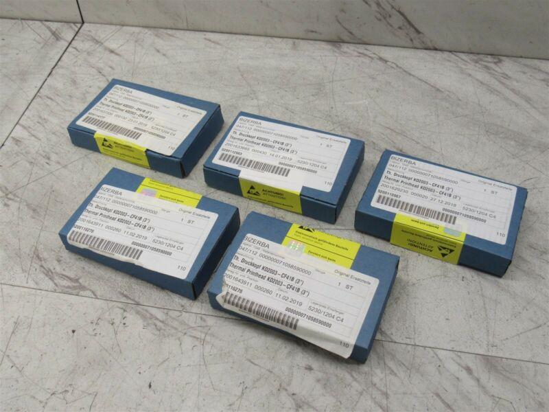 Lot of 5 New Genuine Thermal Print Head KD2003-CF41B for Bizerba KH-II 800