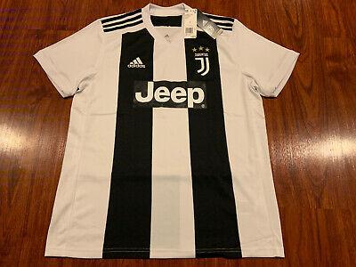 2018-19 Adidas Men's Juventus Home Soccer Jersey Large L Juve Italy