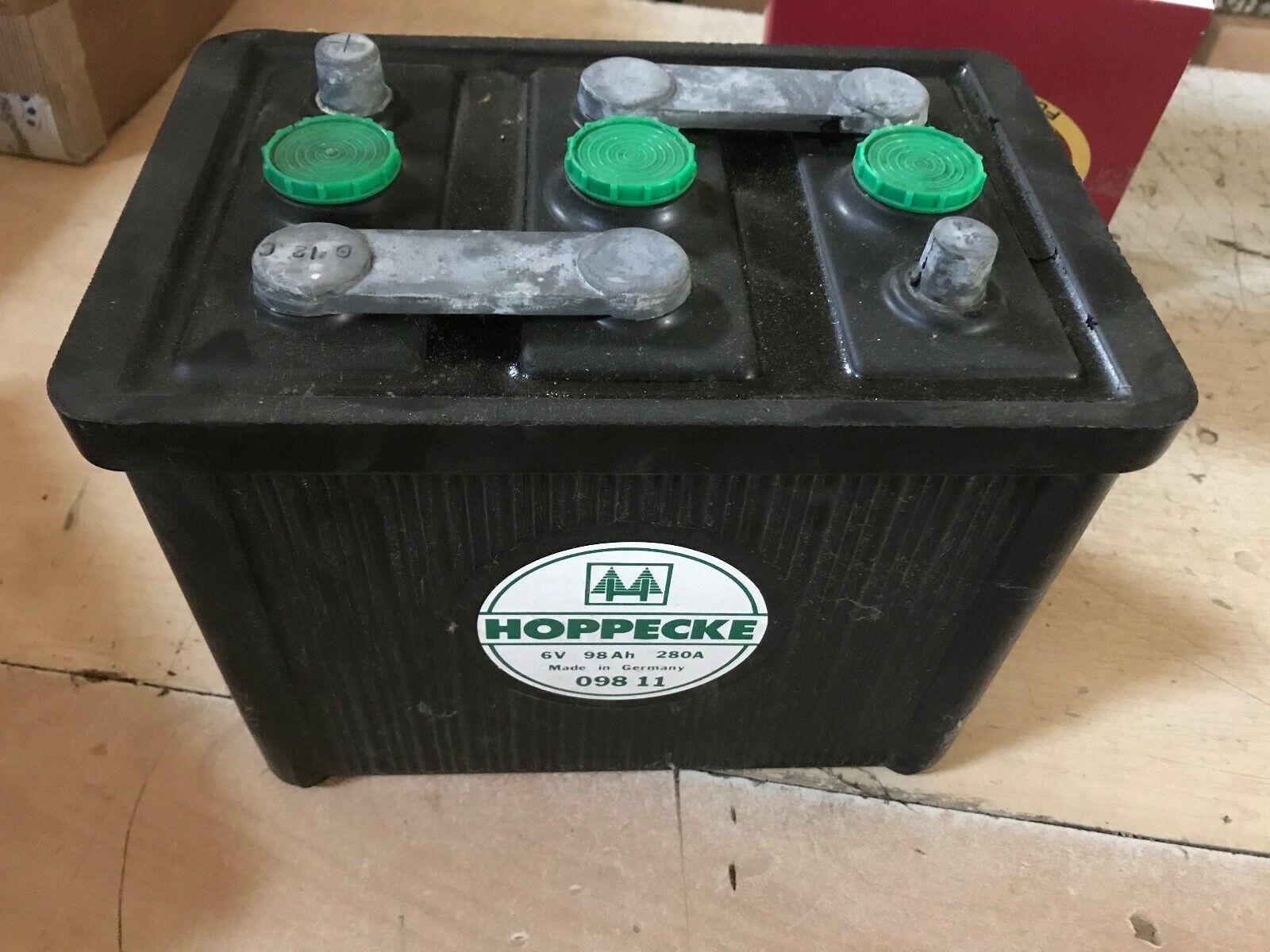 Oldtimerbatterie Banner Starterbatterie 6V 98Ah 98 Ah 09811