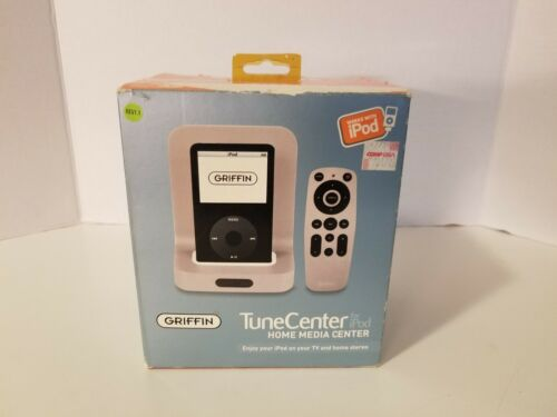 Griffin TuneCenter Home Media Center for iPod - Dock, Remote, AC & Media Cable