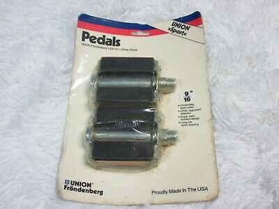 Raleigh Bomber NOS Raleigh Union germany Made Steel Bike Pedals