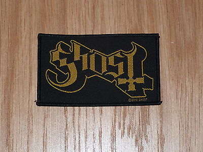 GHOST - LOGO (NEW)SEW ON W-PATCH OFFICIAL BAND MERCHANDISE