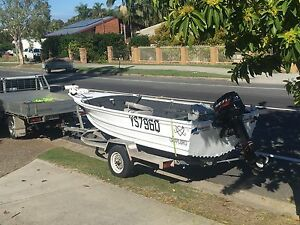 Quintrex hull / 2012 30hp merc (low hours) Holland Park West Brisbane South West Preview