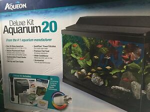 Fish tank, filter, light, heater etc...fish not included