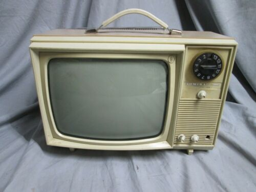 Vintage Classic Admiral TV  Television Set UNTESTED