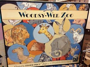 Fisher Price Toy Fest 1997 woodsy wee zoo