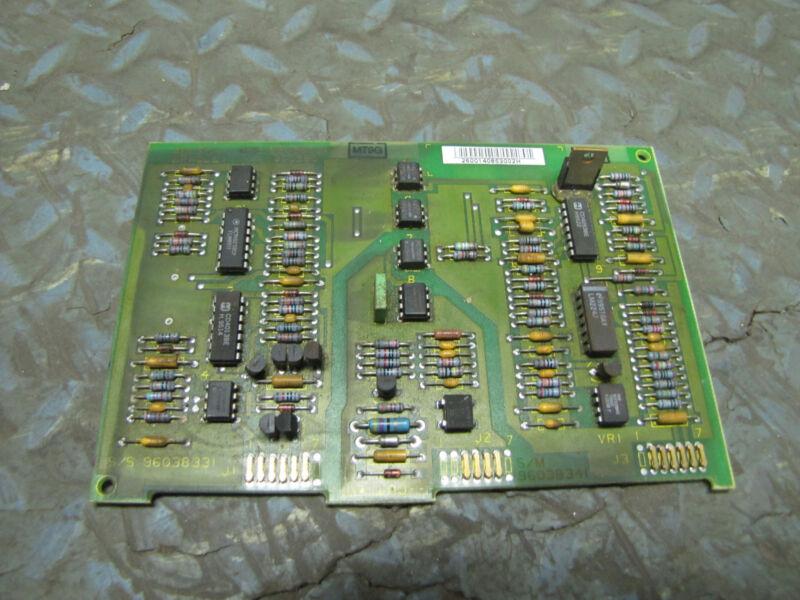 ALLEN BRADLEY PCB CIRCUIT BOARD CARD 96038321 960260