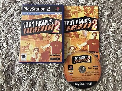 Tony Hawk's Underground 2 Playstation 2 Game Complete
