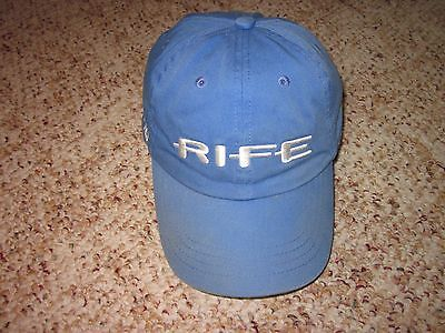 Rife Island Series Hybrid Mens Blue Golf Cap Adjustable Golf Clubs & Equipment
