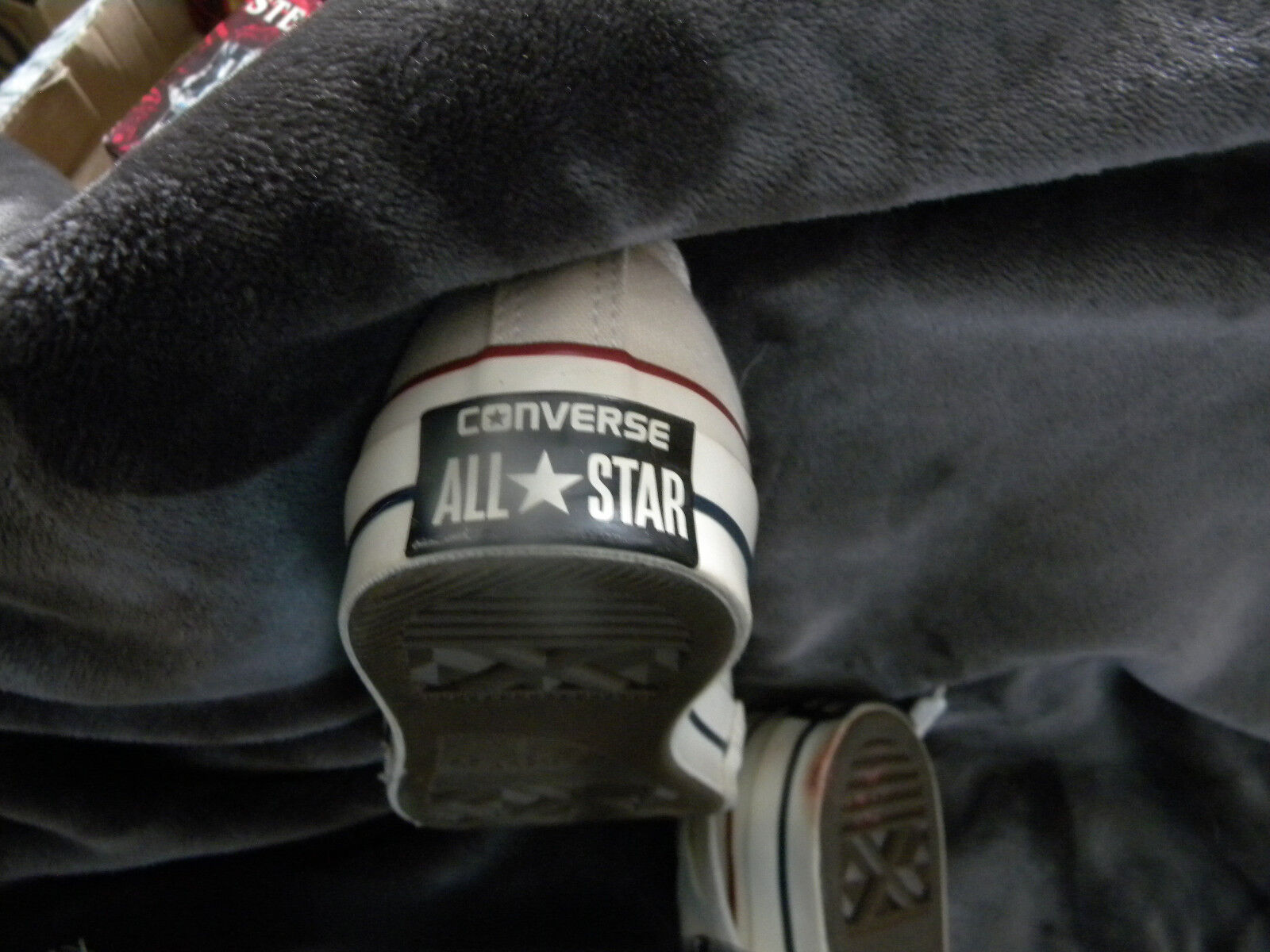 Converse All Star Chuck Taylor Canvas Shoes Low Top Off White Size 3/EXCELLENT