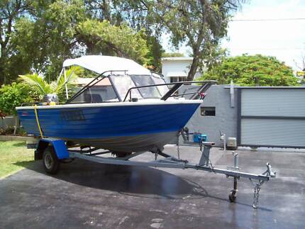 Great roomy fishing boat Bellara Caboolture Area Preview