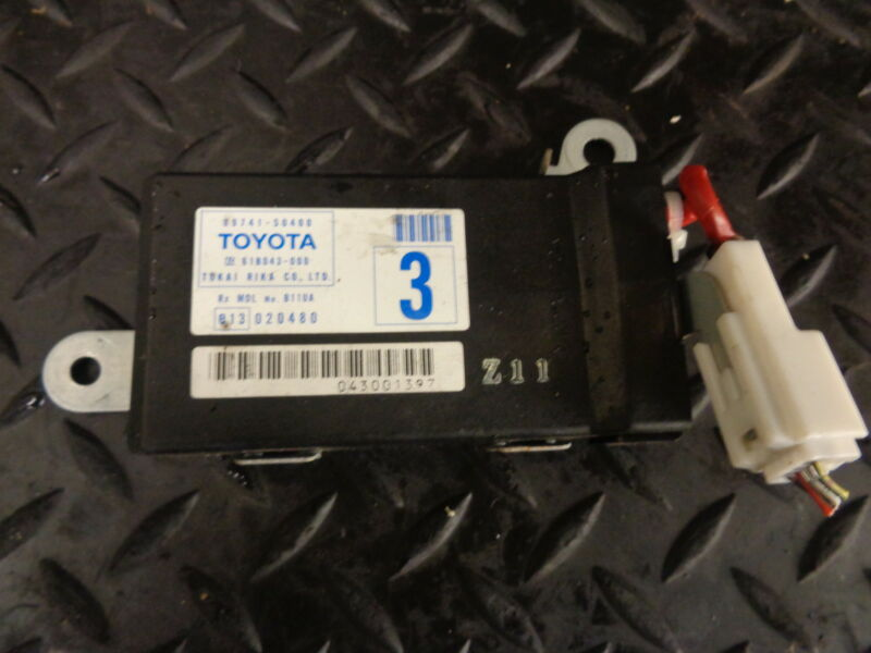 2001 LEXUS LS430 4.3 V8 4DR AUTO WIRELESS DOOR RECEIVER MODULE 89741-50400