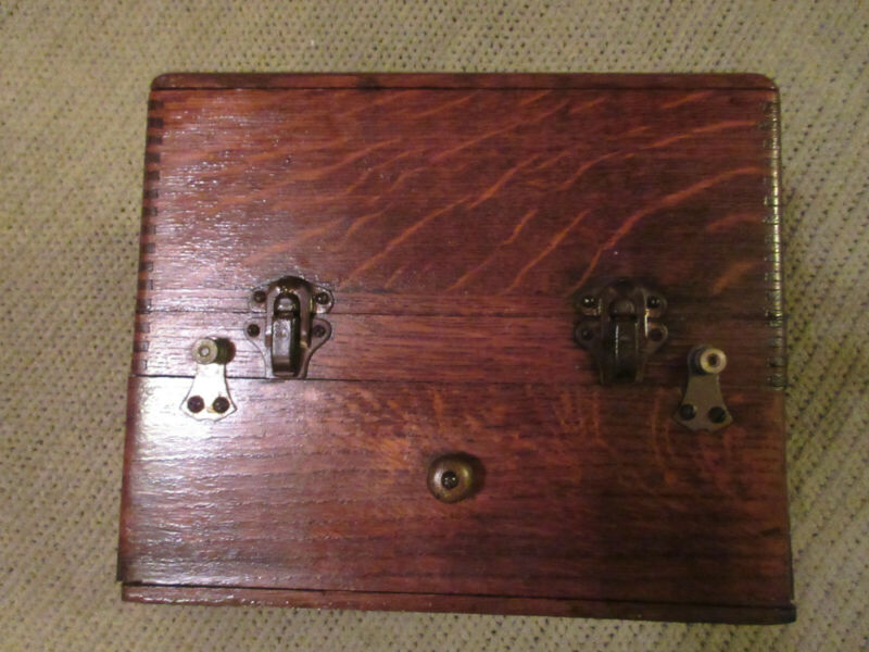ANTIQUE QUACK MEDICAL ELECTRA-SHOCK THERAPY DEVICE/MACHINE INSPECTED 5/19/1917