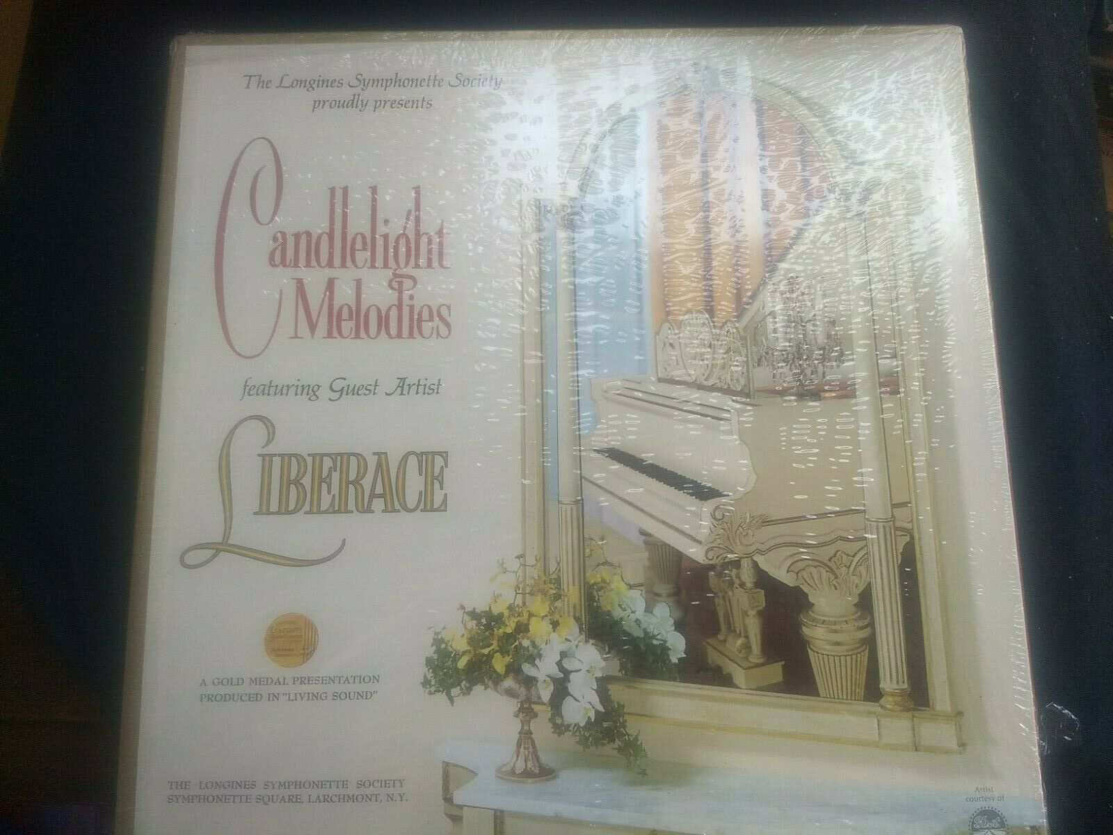4 LP BOXED SET SHRINK-WRAPPED LIBERACE CANDLELIGHT MEMORYS PIANO MUSIC - $21.90