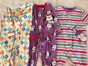 Winter pyjamas - 6-9 month old baby girl Camp Hill Brisbane South East Preview